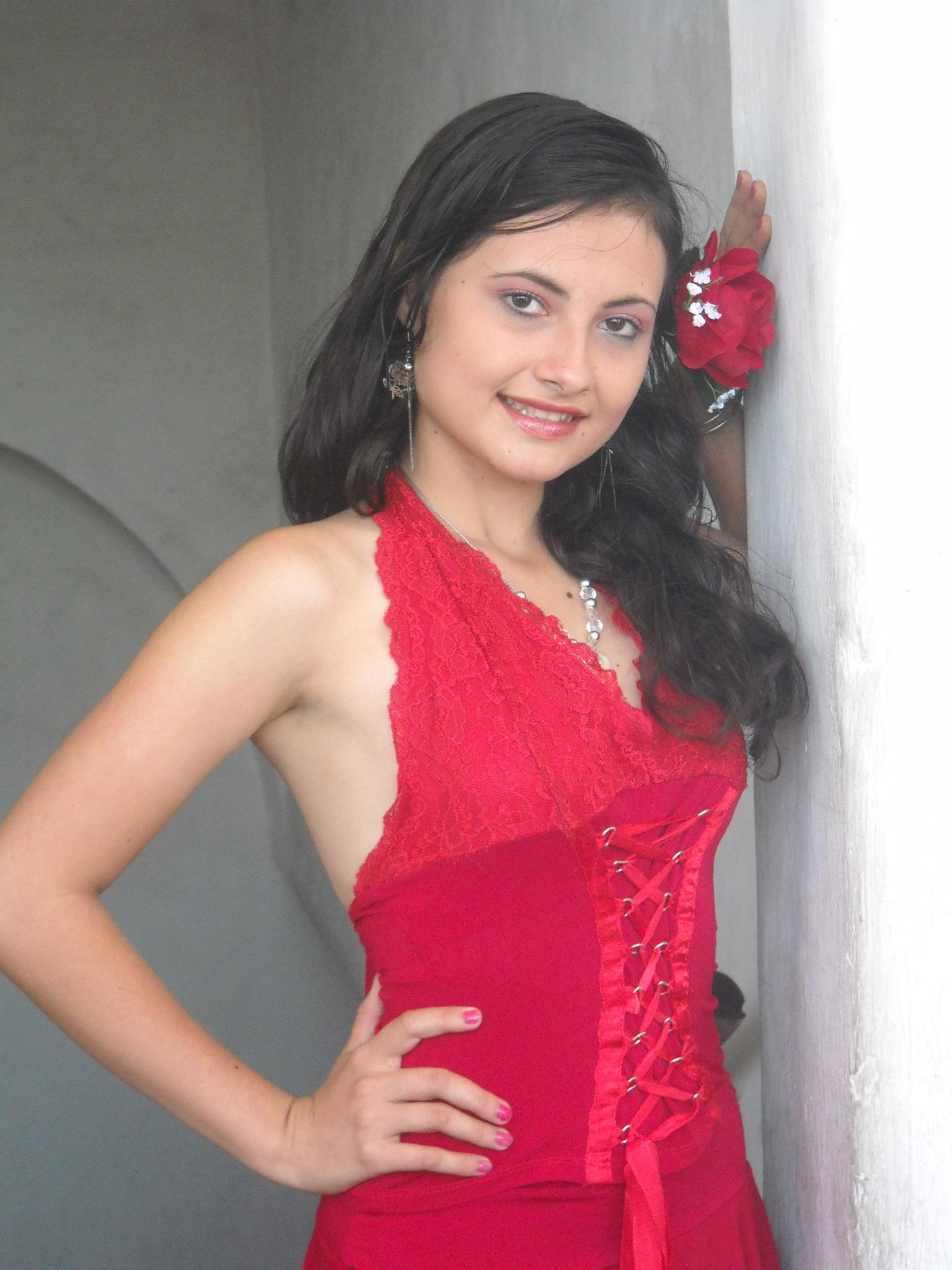 Traje De Baño Rojo Andrea:zoila portillo en traje de baño